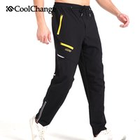 Wholesale CoolChange Spring Outdoor Sports Pants Cycling Bike Reflective Pants Cycling quick drying trousers comfortable zipper Pants