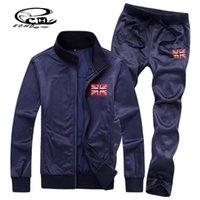 sweat suits men - Men s Sweat Suit New Lovers Tricot Tracksuit Men Thin Section Men s Sports Suit Plus Velvet Sport Jacket Pant One Set Hoodies