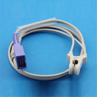 Wholesale Ear Clip SpO2 Sensor Reusable Direct Nellcor pin Compatible Oximax SpO2 Probes for Monitor Patient CMD0148A