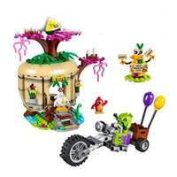 best islands - Birds Bird Island Egg Heist Trike Building Blocks Models Toy Children Kids Best Gifts Toys Compatible With
