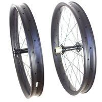Wholesale 26er fat bike carbon wheels mm width fatbike carbon wheelset tubeless