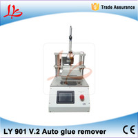 automatic gluing machine - LY V Built in vacuum pump with S4 S5 mold automatic Touch screen oca glue removing machine for mobile phone lcd screen refurbishment