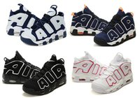 Wholesale Men Basketball Shoes Air More Uptempo Women Training Shoes Pippen Hot Sale Sneakers Cheap Mens Sports Shoes Lowest Price