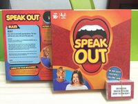 Wholesale Speak Out Game KTV Party Game Cards For Party Christmas Gifts Newest Best Selling Toy With Retail Box