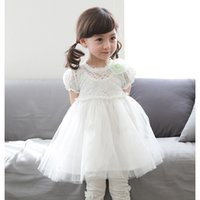 ball manufacturers - 2016 summer Brand children s clothes Girls gauze princess dress Han edition child dress manufacturers selling foreign trade cotton