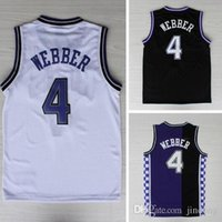 basketball sacramento - Sacramento WEBBER Jerseys Retro Style mens Cheap Basketball Jerseys Great Quality Rev Stitched and Embroidery Jersey
