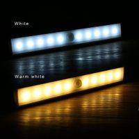 Wholesale Motion Sensor light Wireless LED Light Stick on Anywhere Intelligent Infrared Induction Night Lights