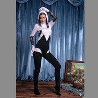 adult spiderman costumes - New Fantasias Halloween Costume Spider Women Costume Adult Spiderman New Superhero Disfraces Cosplay Sexy Jumpsuits