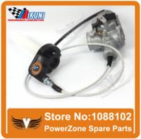 Wholesale MIKUNI Carburetor VM26 PZ30 mm Visiable Throttle Settle Cable Fit cc cc KAYO BSE IRBIS Motorcycle Dirt Bike ATV Quad