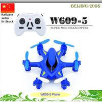 Wholesale HJ W609 Axis Gyro CH GHz Radio Control RC Drones Hexacopter w D Flip RTF TRC with LED Light