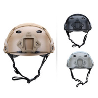 Wholesale Outdoor Helmet Military Tactical Helmet Outdoor CS Airsoft Paintball Base Jump Protective Helmet Colors