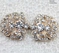 beaded wedding jewelry patterns - New Pattern Luxury Diamond Buckle High end Costume Jewelry Clasp Jewelry Clasp Wedding Dress Women s Fur Buckle Clasp