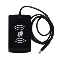 Wholesale Mhz RFID S50 S70 reader USB port output rfid ic card reader
