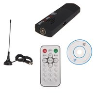 Wholesale High Quality Set RTL2832U R820T DVB T SDR DAB FM USB Dongle Stick Digital TV Tuner Receiver