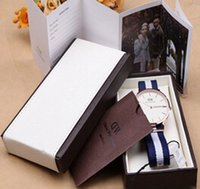 Wholesale And Retail Luxury Brand Daniel Wellington Watch Box Dw Original Watch Box With Instructions And Manual Case cm Watch box