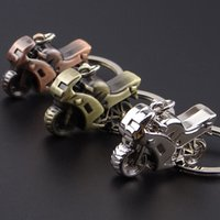 antique collectors - 2016 Brand New Fashion D Simulation Model Metal Motorcycle Motorbike Keychain Key Chain Keyring Gift for Boy Friend or Racing Collector