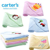 Wholesale Newborn baby Swaddle Blankets Children s Towels Robes Cotton Cartoon Kids Girls Boys Bath Towel cmx76cm Air Conditioning Blanket DR0052