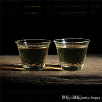 Wholesale Party Decoration Blowing Glass Height Of MM Diameter traight Glass Hand Blown The Candle Cups Candle Votive Wedding Decoration S