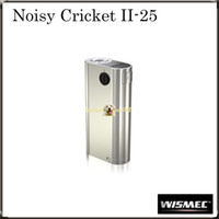 battery in parallel - Authentic Wismec Noisy Cricket II MOD W O Battery Noisy Cricket Optional Circuit in Series and Parallel Original