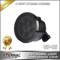 Wholesale 6pairs led signal light amber driving light Jeep Jk warning turn light high power LED signal lamp for offroad vehicles