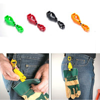 Wholesale Creative Products mm metal detectable plastic Glove Clip protective Holder safety work gloves Guard