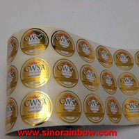 beer label designs - Custom Labels Gold Sliver PE PP PET Printed Self Adhesive Product Sticker Labels For Beer Beverage Juice Cap