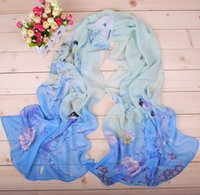 Wholesale 2016 new magpie newspaper spring female chiffon long scarf autumn and winter gift scarves