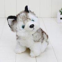 Свободный материал собаки Отзывы-50pcs EMS собачьих плюшевые игрушки чучела животных игрушки хобби около 7inch подарок бесплатная доставка 18см хорошие дети
