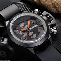 Wholesale 2002 Male Quartz Watch Date Display M Water Resistance Silicone Band