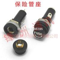 Wholesale X20 fuseholders X20 insurance tube socket fuse holder for insurance Panel Mount Fuse Holder x20mm