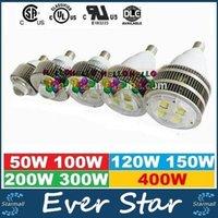 E27 E40 Crochet Ampoule rétroéclairée 50W 100W 120W 150W 200W 300W 400W Led High Bay Eclairage Remplacer lampe halogène Hall Lights