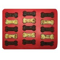 baking hot dogs - hot hole bone dog bone shape silicone baking mold baking biscuit cake making molds lace silicone crown fondant cake stencil tinyaa