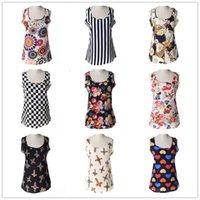 2016 Factory Direct moda Vest Blusas Vestuário Womens Plus Size 16 cores regata Camisa Verão Causal Regatas Para Mulheres