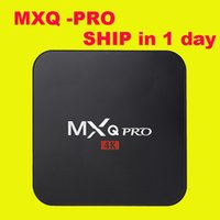 android flash - MXQ Pro k Amlogic S905 Android TV Box Quad Core Android DDR3 G Nand Flash G HDMI WIFI p DHL OTH039