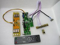 av controller software - TV HDMI VGA AV AUDIO LCD Controller Board For quot LC201V02 LCD panel USB can upgrade the software
