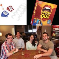 Wholesale in stock New Hot Speak Out Game KTV party game cards for party Christmas gift newest best selling toy