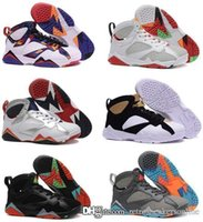 Cheap Retro Air 7 men basketball shoes online cheapest sale authentic good quality sneakers US size 8-13 free shipping with box