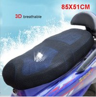 Wholesale 3D mesh motorbike seat cover scooter Seat Covers Black Seat Cover breathable and heat insulation cm