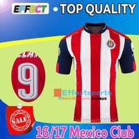 Wholesale 2016 Mexico s Club Chivas de Guadalajara Soccer Jerseys top Reyna O BRAVO camiseta de futbol survetement cheap football shirts