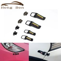 Wholesale HB Security Hook Lock Clip Kit Universal Clip Hasp For Racing Car Truck Hood Quick Release Fasteners