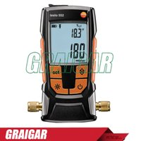 absolute vacuum pressure - TESTO high precision digital vacuum gauge tester absolute pressure gauge