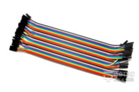 Wholesale 21CM Female to Female P Jumper Wire Dupont Cable for Arduino X pin wire hose