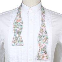 Wholesale Adjustable Men s Multi Color Silk Bowties Self Bow Tie Butterflies Necktie Ties