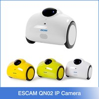 baby hd - Escam Robot QN02 Smart WIFI IP Camera MP Wireless Baby Monitor P HD Touching Interaction Camera
