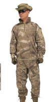 authentic military uniforms - us army military uniform for men Wear clothing shooter authentic knee pad field training uniform shirt and pants