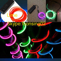 beautiful wire rope - Wonderful and Beautiful MM EL Light Wire M Red Color EL Thin EL Rope Lumious Cool Wire