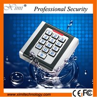 Wholesale High quality IP68 waterproof single door standalone user rfid card reader M03 with key access control