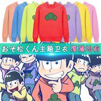 anime sweaters - Hot Color Mr Osomatsu san Kun Japanese Anime Hoodie Hoody Sweater Cosplay Costume Size S M L XL XL