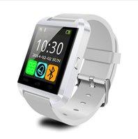 achat en gros de mains libres bluetooth bracelet-Bluetooth Smart Watch Smartwatch U8 U80 U MTK Mains-libres Montre numérique bracelet de sport Bracelet pour téléphone Android Samsung iPhone