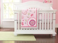 Cheap Unisex cot crib bedding set Best Four pieces Above Cribs Bedding baby crib bedding